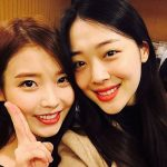 <トレンドブログ>ソルリ、親友IUが誕生日を祝ってくれたことを公開!