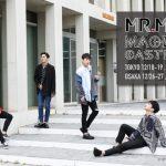 MR.MR(ミスターミスター)12月に東京と大阪にて「MR.MR 2018 LIVE -Magic Castle-」開催決定