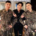 【トピック】「BIGBANG」V.I、入隊中D-LITE&SOLとの3ショット披露!