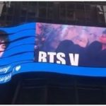 防弾少年団 V、ニューヨークの巨大スクリーンに登場…海外メディアも報道