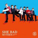 K-POP R&BボーイズグループMYTEENが日本デビューシングル「SHE BAD -Japanese ver.-」をリリース!LINE LIVEでメンバーが仮装するハロウィンパーティーの生配信が決定!