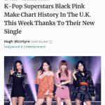 Forbes、BLACKPINK英チャート36位進入を絶賛..K-POPガールズグループ最高記録