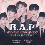 B.A.P、北米ツアーを大盛況で終了…今日からヨーロッパツアー開始