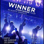 「WINNER」、来年1月デビュー初の北米ツアー確定=米国・カナダ7都市で公演