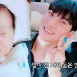歌手ノ・ジフン&イ・ウンヘ夫妻、第一子誕生=そっくりの息子を公開!