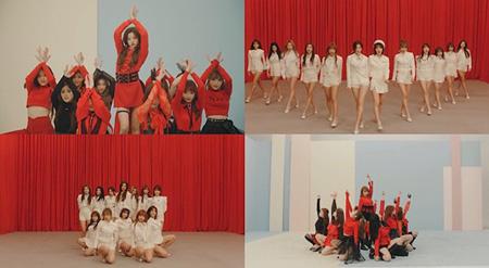 「IZ*ONE」、「La Vie en Rose」MVパフォーマンスバージョンを公開!