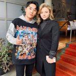"V.I(BIGBANG)、クロエ・モレッツとのツーショットを公開=LAで""セレブな出会い"""