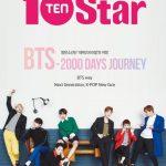 防弾少年団、デビュー2000日を記念してマガジン「10+STAR」10周年特別号出版
