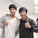 パク・ボゴム&ン・チョングン、ドラマ「ボーイフレンド」本放送視聴のお願い…仲のいい父と息子