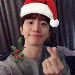 "2PMジュノ、かわいいサンタに変身…""メリークリスマス"""
