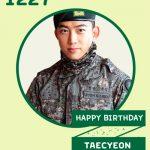 2PM、今日(27日)誕生日を迎えたテギョンをお祝い「軍隊でも光るビジュアルのオク上兵様!」