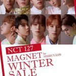 NCT 127、MAGNET by SHIBUYA109 WINTER SALEとのコラボレーション決定!