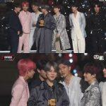 "「2018 MAMA」防弾少年団(BTS)、「ミュージックビデオ賞」受賞…""ファンに感謝"""