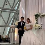 <トレンドブログ>女性お笑い芸人イ・スジ結婚式開催、パク・ボゴム似のイケメン夫の顔公開