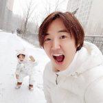 【トピック】第三子誕生で話題のユン・サンヒョン&Maybee夫婦、長女のナギョムちゃんが超カワイイと話題