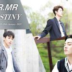 MR.MR (ミスターミスター)「2019 LIVE -DESTINY-」開催決定!