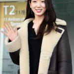 女優パク・シネ、消防士に防火服専用洗濯機、5千万ウォン寄付