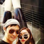 """【トピック】長女結婚で話題の俳優イ・ソンジェ、過去には2人の娘たちとの""""デート""""写真を公開"""
