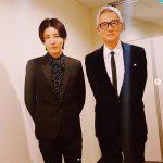 俳優兼歌手ノ・ミヌ、松重豊との2ショット写真を公開…「It was great night」