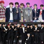 BTS対Wanna One、熾烈な1位争い=「2018KPMA」投票の中間発表