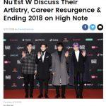 NU'EST W、米ビルボードで単独インタビュー「2018年は祝福でいっぱいの一年」