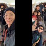 防弾少年団、台湾コンサートのためチャーター機で出国「ARMY、行ってきます」