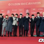 「PHOTO@ソウル」SEVENTEEN「第33回ゴールデンディスクアワード」レッドカーペットに登場!