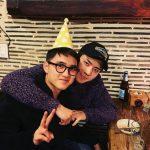 """EXOスホ&セフン、ディオに愛情あふれる誕生日のお祝い…""""ギョンスや、愛してる"""""""
