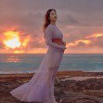 女優キム・ヒョジン、妊娠6か月のマタニティフォトをハワイで撮影