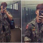 """<トレンドブログ>俳優ユ・スンホ、予備軍訓練に参加した""""軍服""""姿のセルカを公開!"""