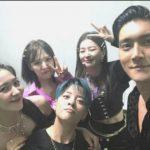 シウォン(SJ)×「Red Velvet」×「f(x)」エンバ、仲睦まじい姿でパチリ
