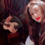 女優パク・シネ、ドラマで共演のCHANYEOL(EXO)との2ショットを公開