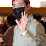 """「PHOTO@金浦」俳優パク・ヘジン、輝くビジュアルと共に韓国出国…""""日本であいましょう"""""""