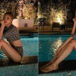 <トレンドブログ>「BLACKPINK」ロゼ、ホテルのプールで完璧なスタイルを披露!
