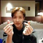 """<トレンドブログ>誕生日を迎えた「防弾少年団(BTS)」J-HOPE..""""ありがとうARMY""""V-LIVEでファンにあいさつ♥"""