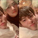 <トレンドブログ>「良い日がはるかに多くなりますように」…パク・ポゴムと「防弾少年団(BTS)」Vと相変らず温かい友情