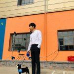 <トレンドブログ>イ・スンギ、子犬とともに完成したダンディー彼氏ルック♥