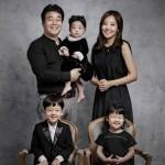 【トピック】ペク・ジョンウォン&ソ・ユジン夫婦、次女セウンちゃんの誕生日を記念して家族写真を公開