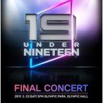 """「UNDER19」からデビュー!""""1THE9""""が初のコンサートを2月23日に開催…4月には日本にも"""