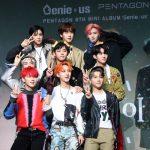 「PHOTO@ソウル」PENTAGON、8thミニアルバム「Genie:us」発売記念ショーケース開催