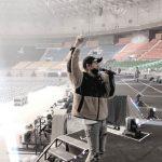 ユンホ(東方神起)、コンサート控えてリハーサル現場を公開