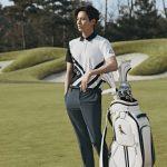 <トレンドブログ>ウォンビン、名品ビジュアルで春のゴルフウェアルックを提案