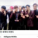 <トレンドブログ>「MONSTA X」、初の音楽番組4冠王達成+「Twitter」全世界トレンド1位にも喜びを爆発!