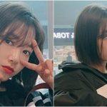 <トレンドブログ>女優パク・シネ、韓国出国前のカリスマショット、ボブカットに真っ赤なリップが素敵!