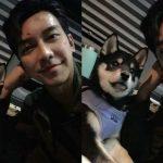"""<トレンドブログ>イ・スンギ、伴侶犬と一緒に撮影現場に… """"ペニジャー2次出勤!"""""""