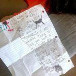 <トレンドブログ>SHIHO、娘サランちゃんの英語の手紙を公開「愛がいっぱい込められて…癒される」
