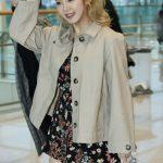 """<トレンドブログ>[空港写真]「少女時代」ヒョヨン、春を呼ぶ花柄ワンピース""""健康的な美貌"""""""