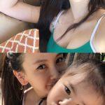 女優キム・ジウ、娘ルアちゃんとの日常公開…育児中もセクシーな水着でスタイル誇示