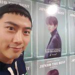 テギョン、軍休暇中ジュノの公演会場を訪ねた2PMの義理「愛してるうちの兄さん」