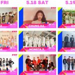 『KCON 2019 JAPAN×M COUNTDOWN』第2弾ラインナップにATEEZ、CHUNG HA、GWSN、MOMOLANDMONSTA X、ONEUS、ONF、SF9の出演が決定!!